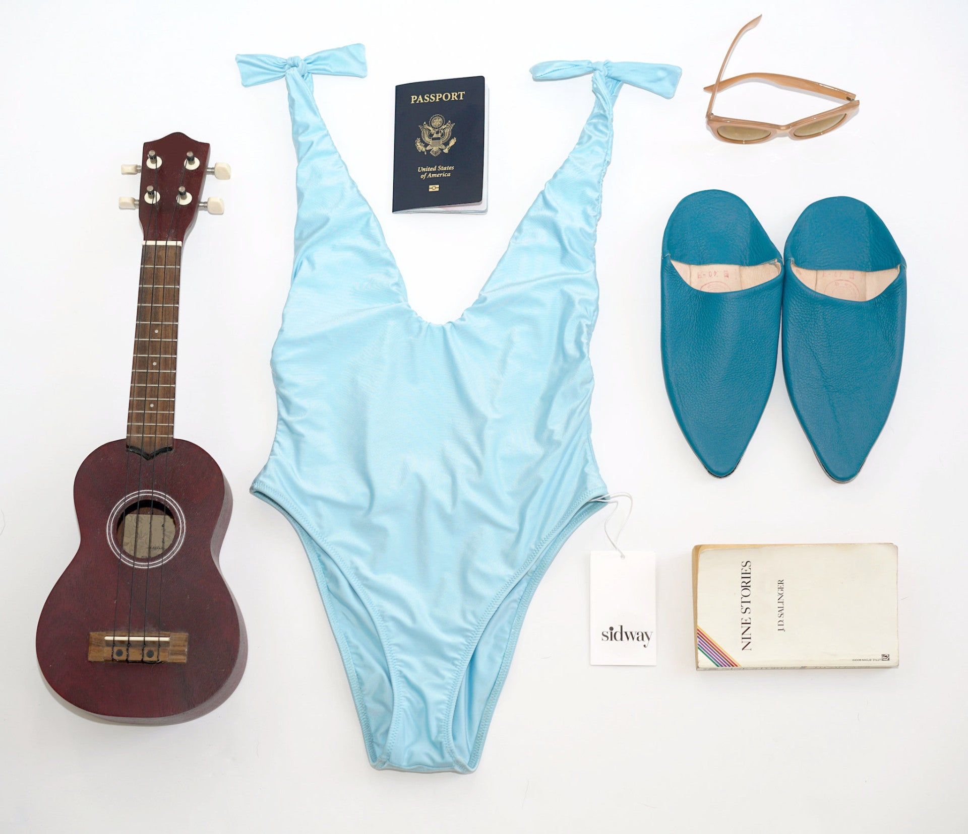 Anderson One Piece Sky Blue