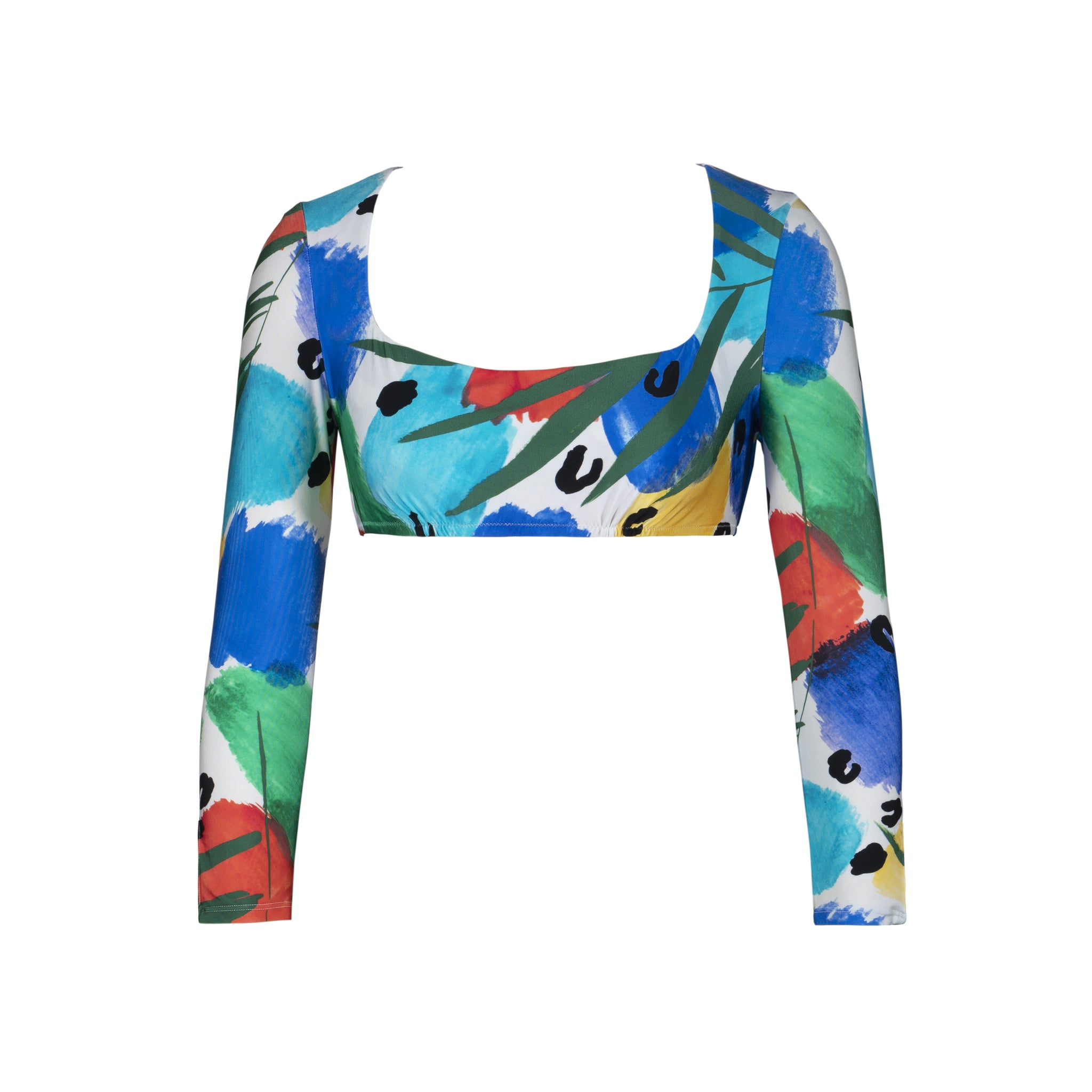 Helen Long Sleeved Swim Top - Islander