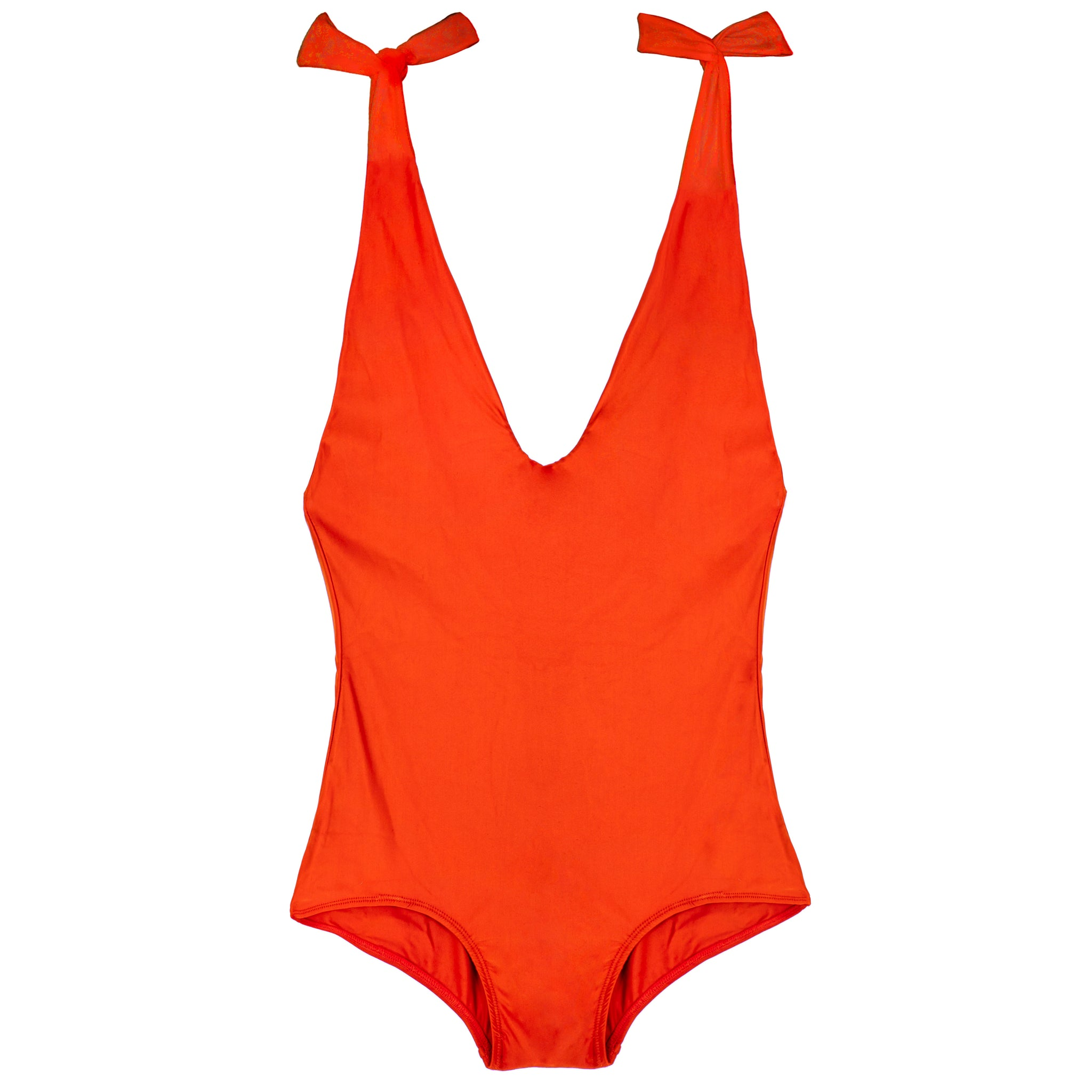 Lisa Low Leg One Piece - Poppy