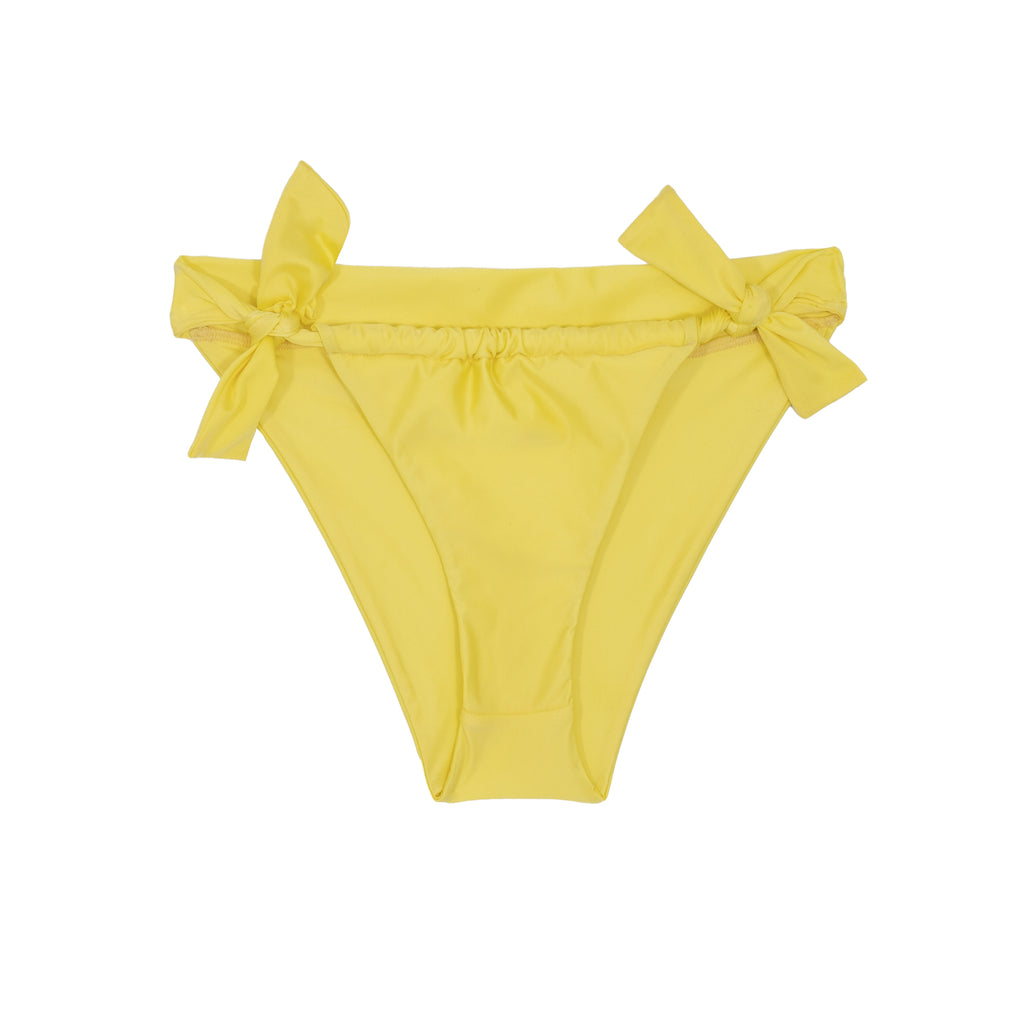 Vivian Tie Side Bottom - Daffodil