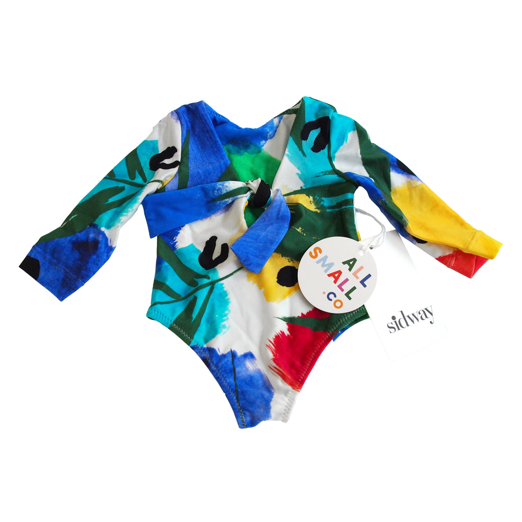 Little Lois Long Sleeve Suit - Islander