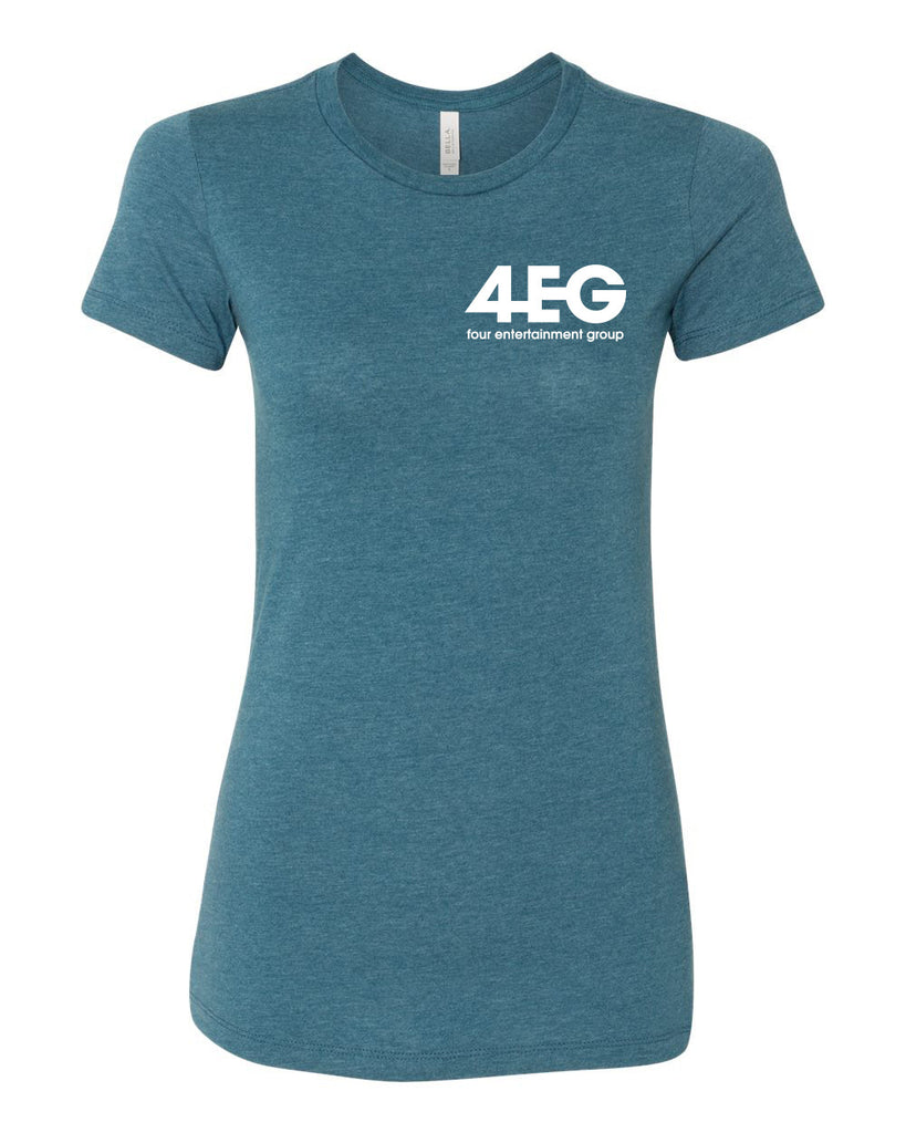 "4EG Women's ""The Favorite"" Tee (Teal)"