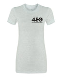 "4EG Women's ""The Favorite"" Tee (Ash)"