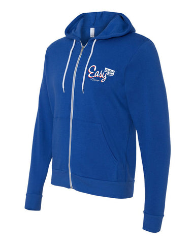 Easy Bar Unisex Hooded Sweatshirt (Royal)