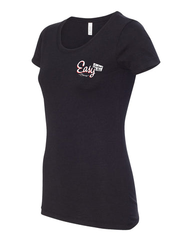 Easy Bar Women's Short Sleeve Tee (Black)