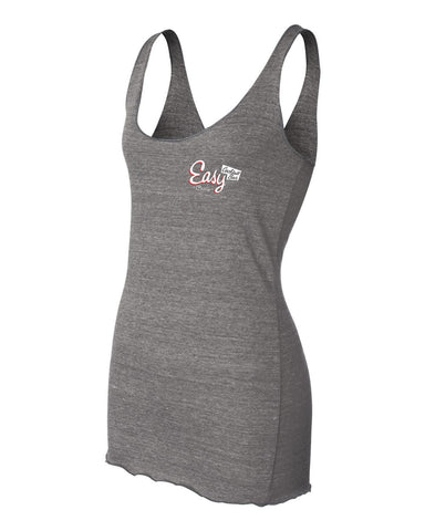 Easy Bar Women's Racerback Tank (Grey)
