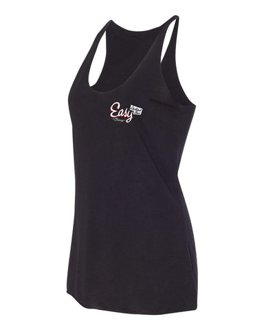 Easy Bar Women's Racerback Tank (Black)
