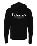 Estelle's Unisex Hooded Sweatshirt (Black)