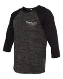 Estelle's Unisex Three-Quarter Sleeve (Black)