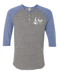 Igby's Raglan Henley (Pacific Blue)
