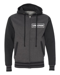 Low Spark Varsity Hooded Sweatshirt