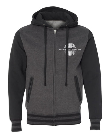 The Righteous Room Varsity Hooded Sweatshirt
