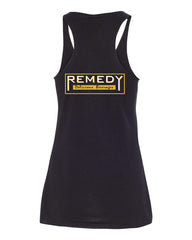 Remedy Women's Racerback Tank (Black)