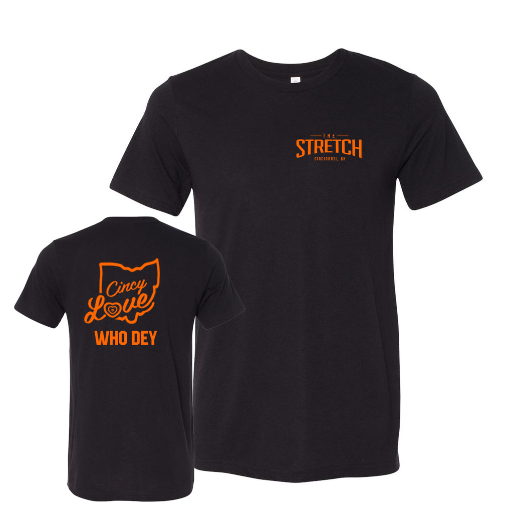 The Stretch Men's Who Dey Tee