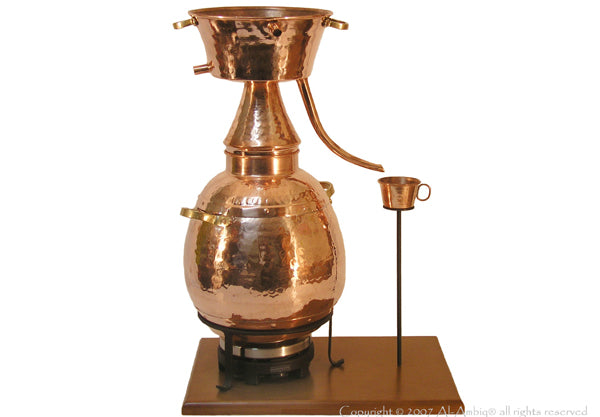 7,5L Traditional Alquitar Still Premium & Electric Plate