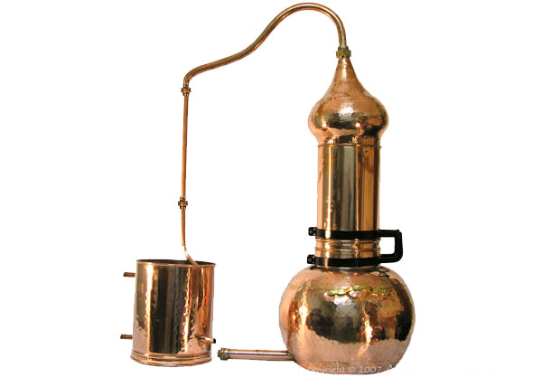 3L Split Top Rotating Column Alembic Still Premium