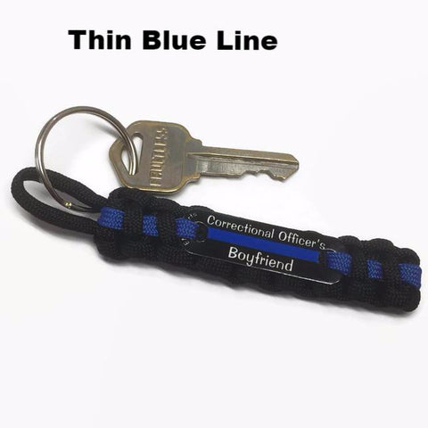 Correctional Officer's Boyfriend or Girlfriend Key Chain