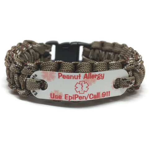 Peanut Allergy Medical Alert, Use EpiPen - Call 911 emsalerts.com