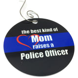 Mom/Dad Raised a Police Officer Ornament