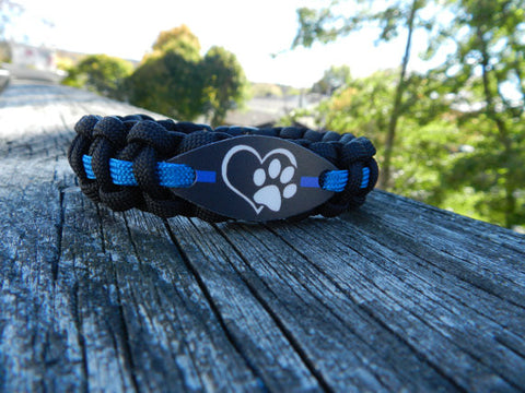 K9 Officer paracord bracelet