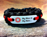Firefighter Mom Hero bracelet