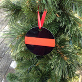 Personalize this Firefighter Ornament with a station number, name or date. Up to 3 lines of text