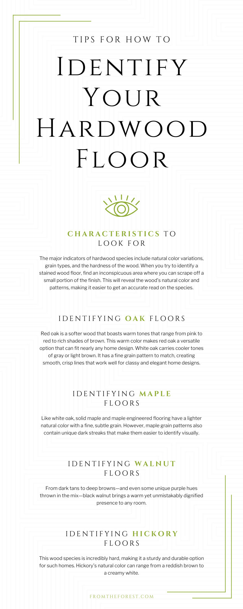 Tips for How To Identify Your Hardwood Floor