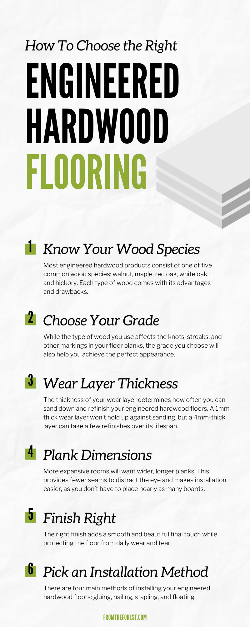 How To Choose the Right Engineered Hardwood Flooring