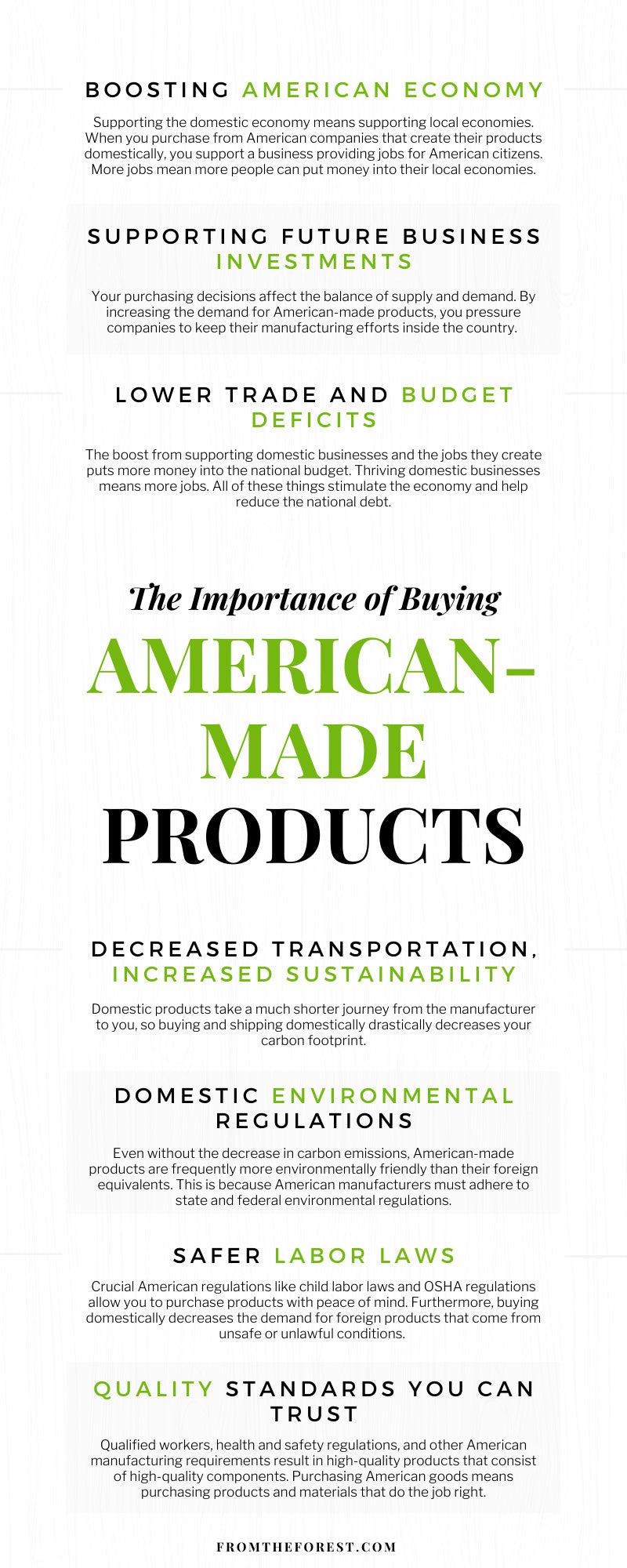 The Importance of Buying American-Made Products