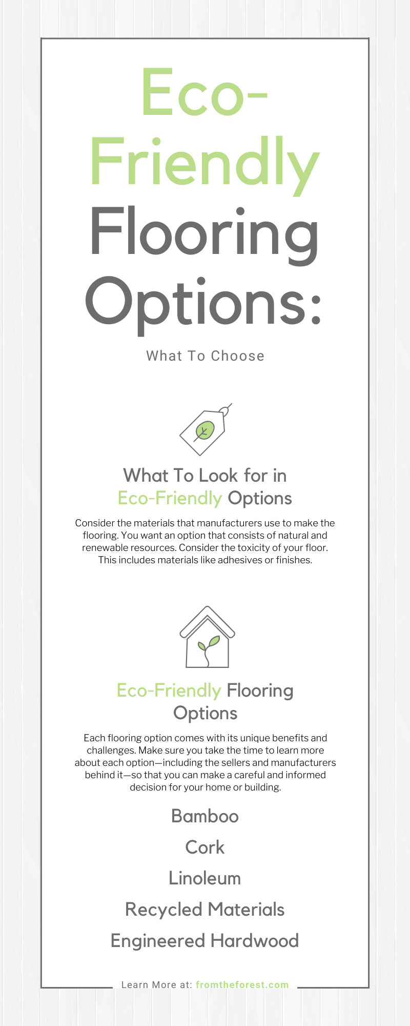 Eco-Friendly Flooring Options: What To Choose