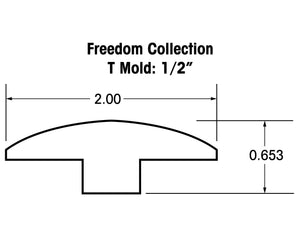"1/2"" T-Mold Trims for the Freedom Collection"