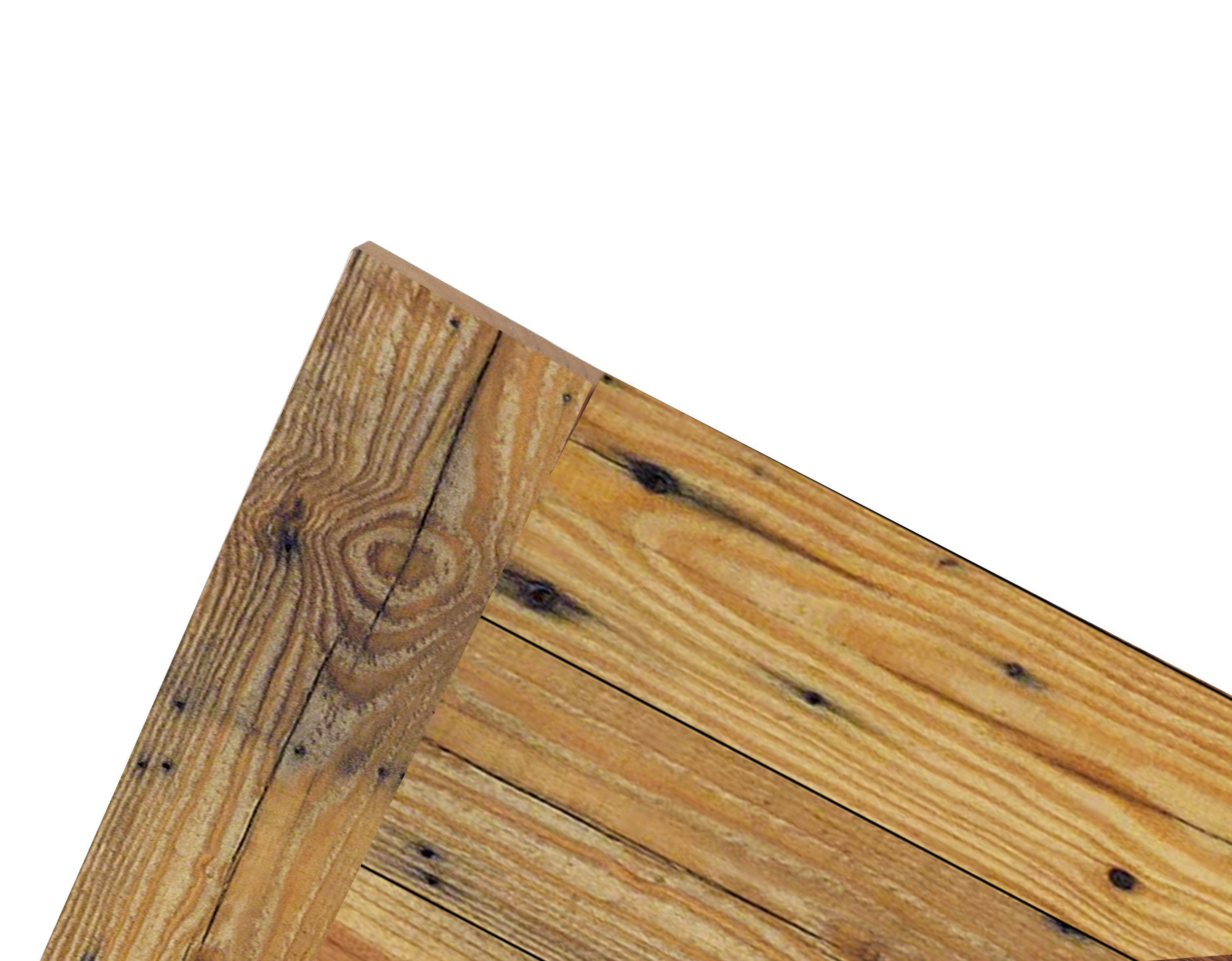 Wallplank's Reclaimed Wood Trim Wall Panels