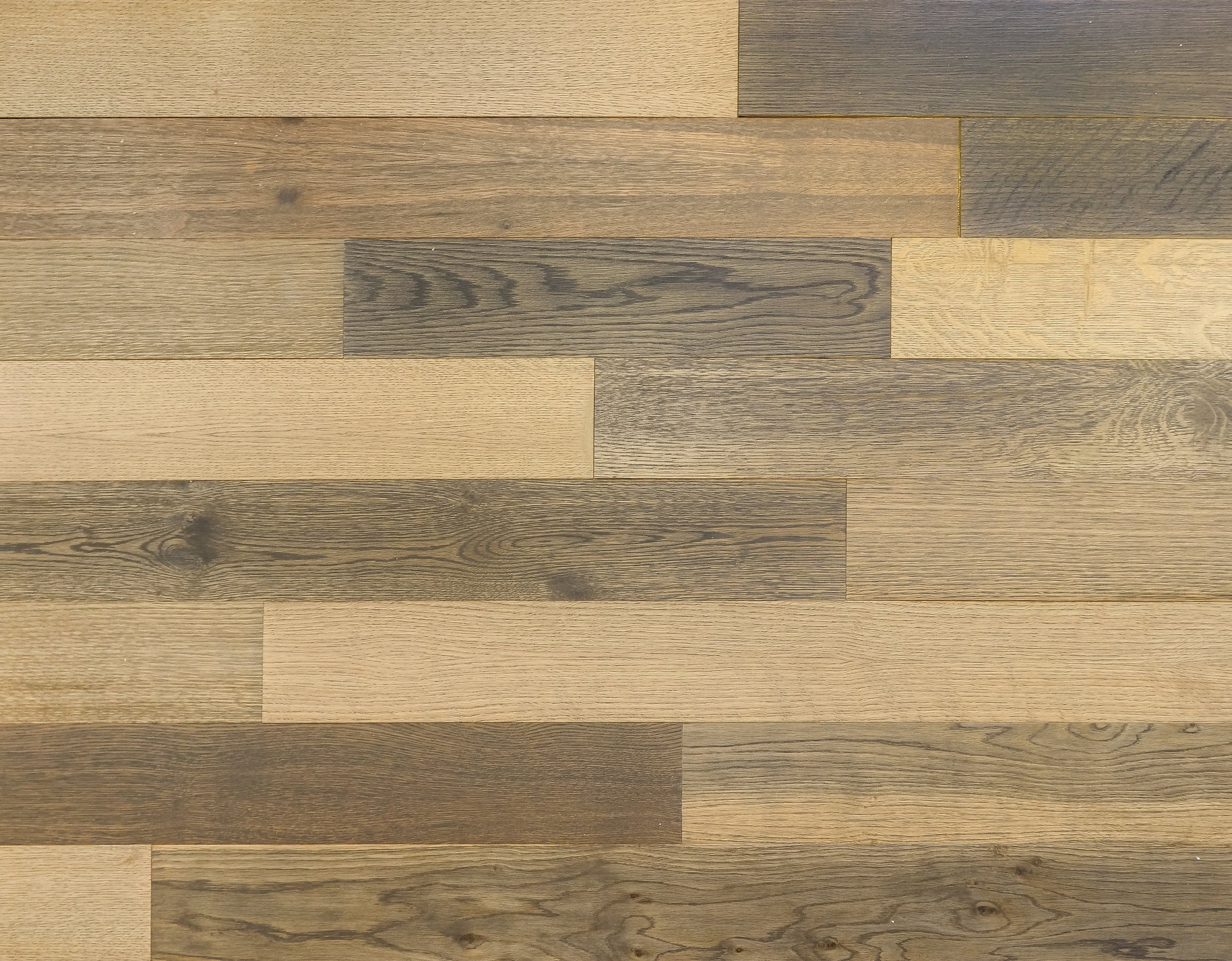 "Wallplank Originals Limited Edition Hardwood Plank - 6"" Samples (3) Colors to Choose From"