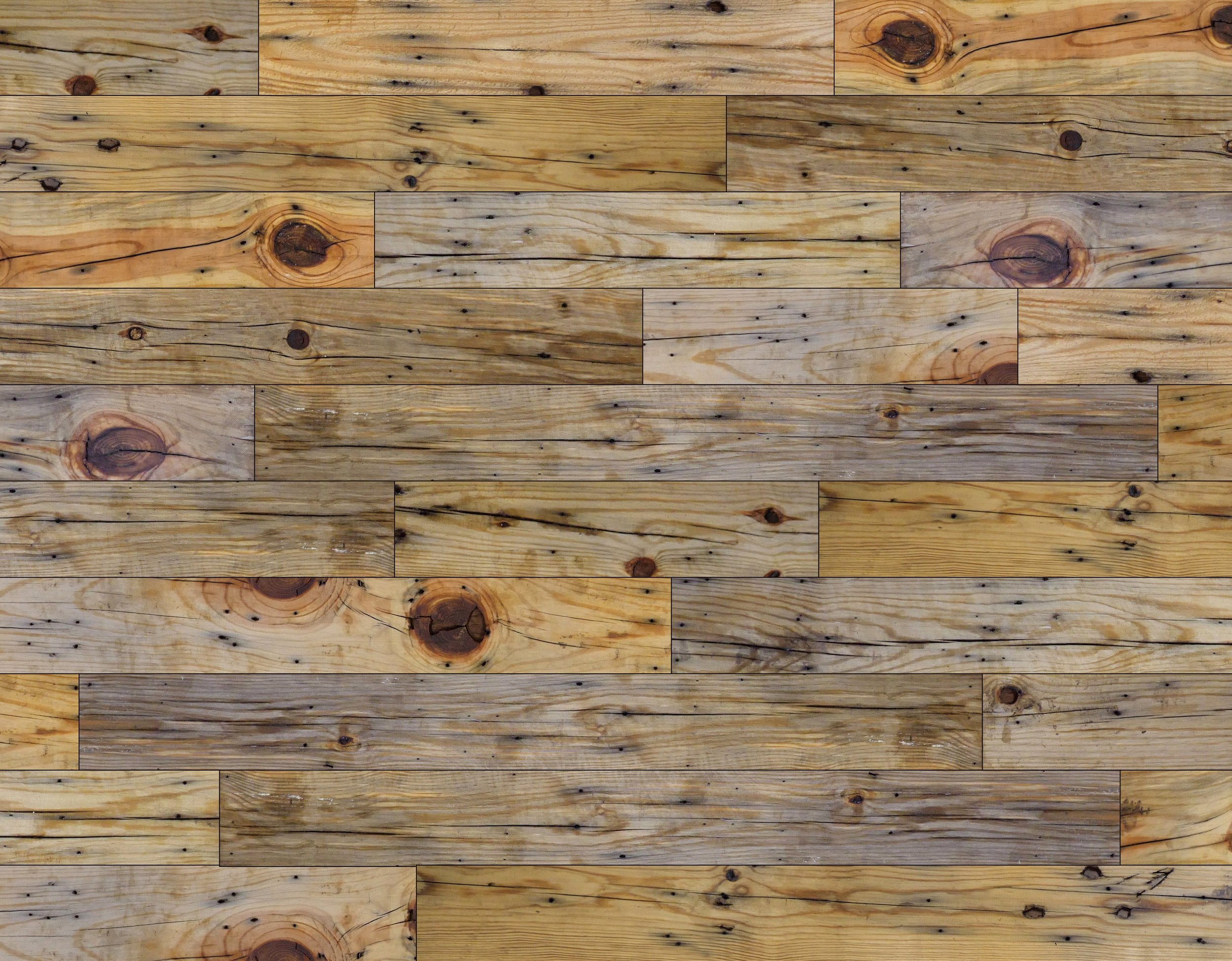 "Wallplanks Reclaimed - 20"" x 30"" Display Sample (5) Colors to Choose From"
