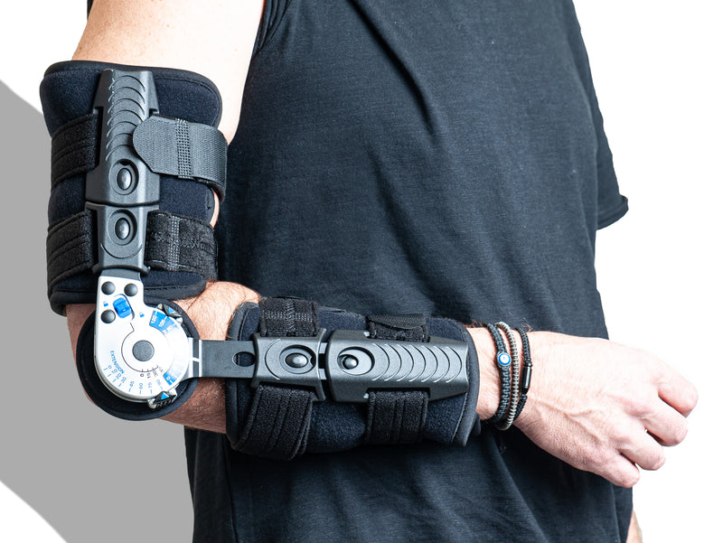 ErgoBrace For Elbow G1 EPA Post-Op Brace Over Motion