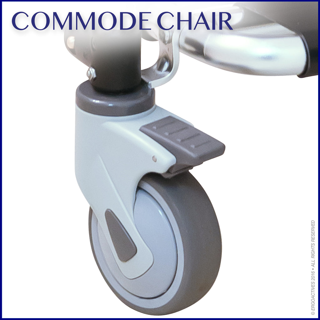 Commode Chair High Quality Casters