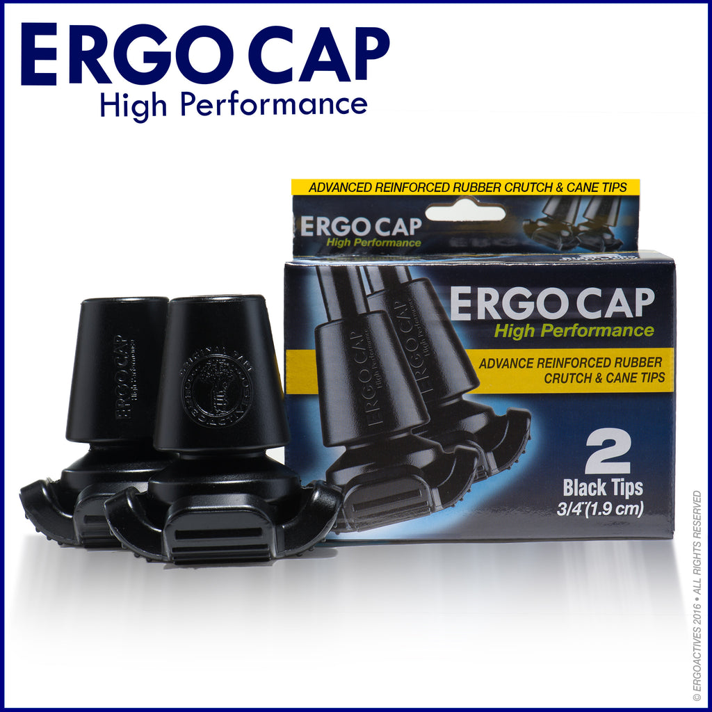 Ergocap HP Crutch Tips Bundle of 2