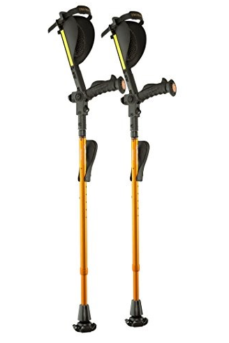 7G Ergobaum Adult Forearm Crutches (Pair)