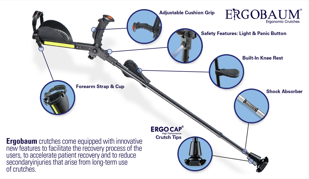 Ergobaum 7G Perfect Cane- High Performance Cane Single Unit
