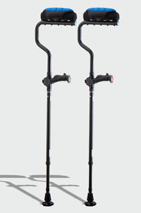 Ergobaum Adult Dual Underarm Crutches (Pair)