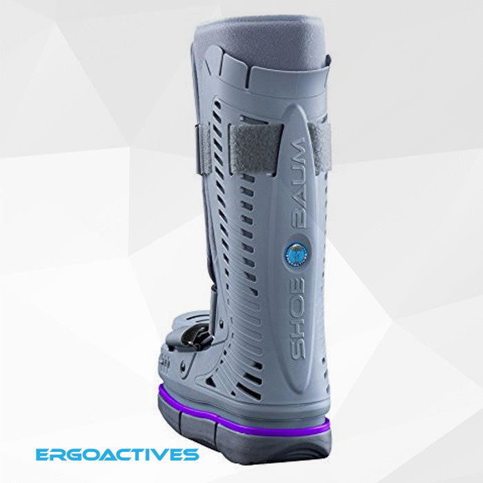 Shoebaum Air Cam Injury Boot + Level Up Balancer (One-Size-Fits-All)