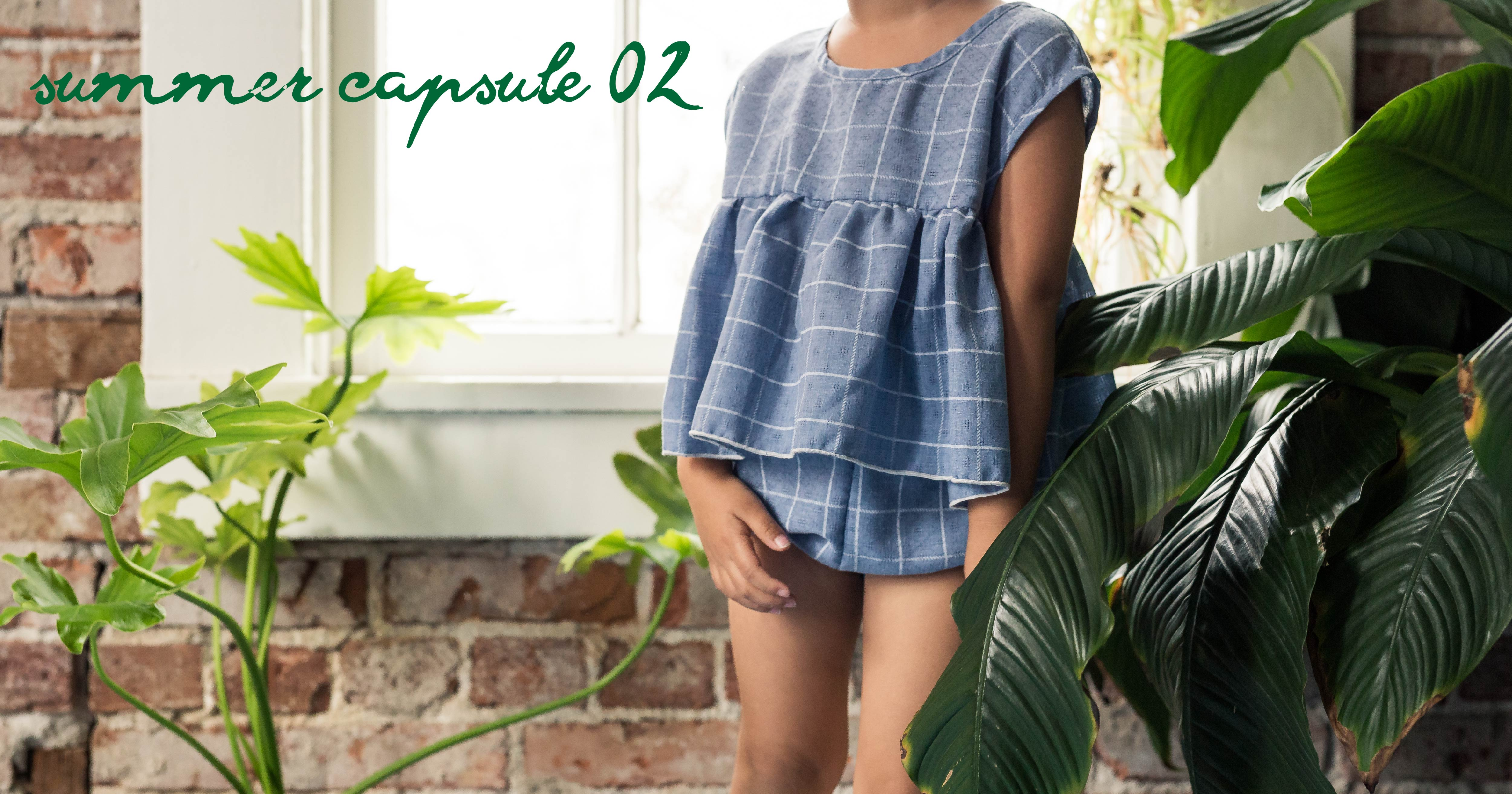summer capsule 02 - ethical kids clothing