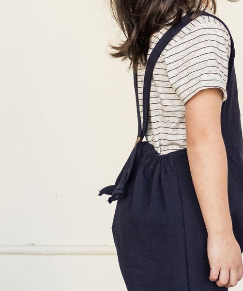 harem overalls | washed navy