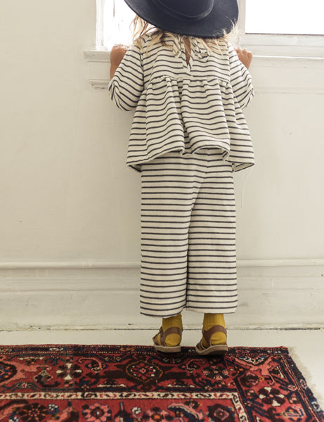 piper trouser | raven stripe