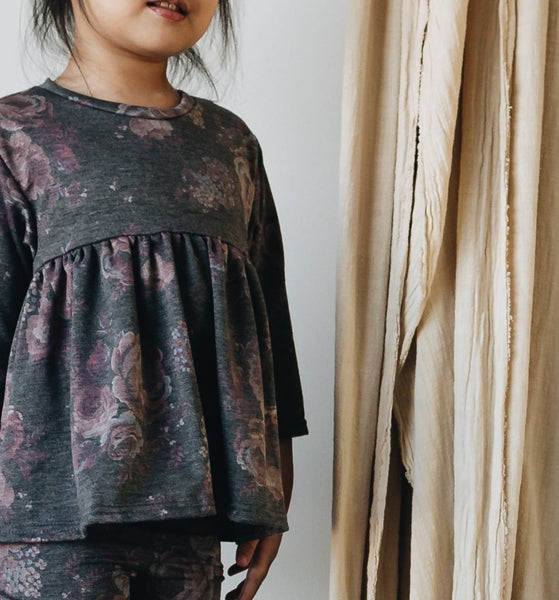 ellwood tunic | heather floral