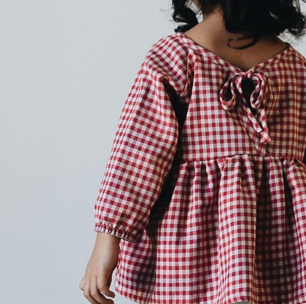 tunic | red gingham