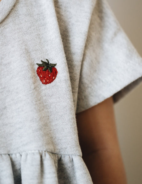 tee dress | strawberry field