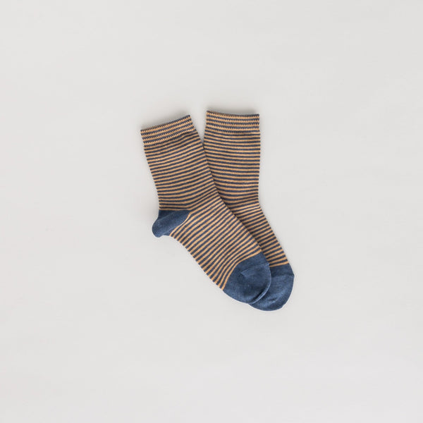 ankle socks | orange stripe