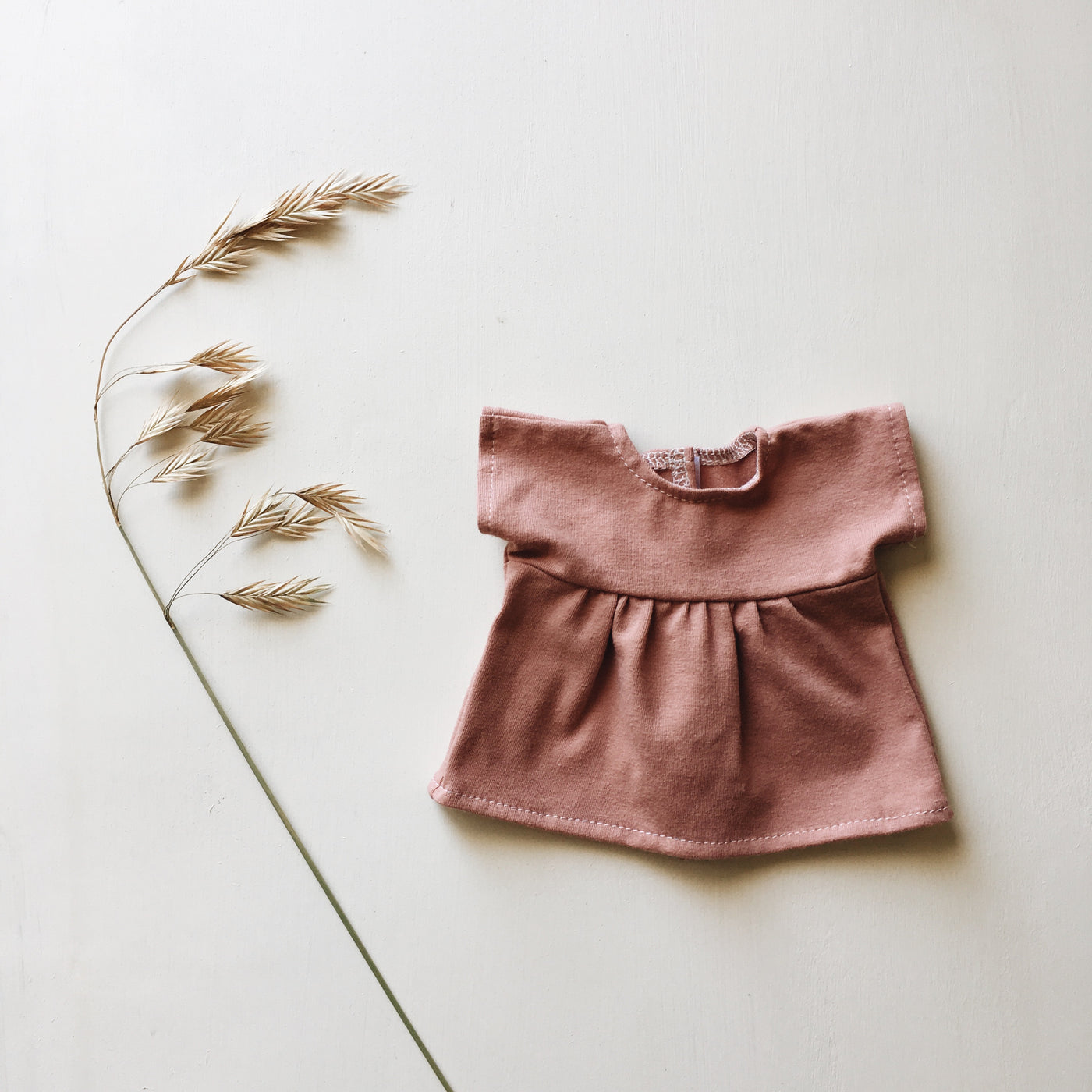 doll | tee dress | mellow pink