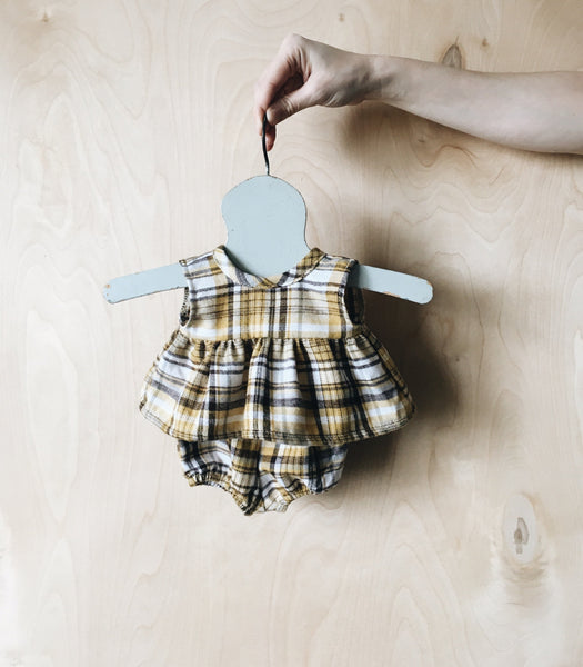 doll | summer set | dandelion plaid